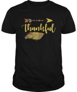 Thankful Arrow Feather Thanksgiving Guys