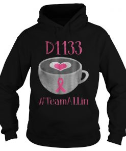 The D1133 Breast Cancer Earth team Allin hoodie