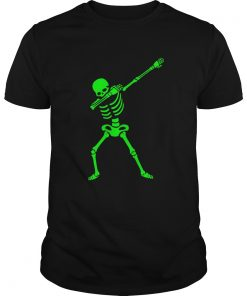 The Dabbing Skeleton ShirtHalloween TShirt Human Skeleton Guys