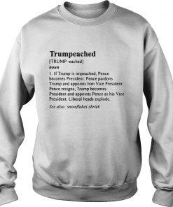 The Definition Trumpeached sweatshirt