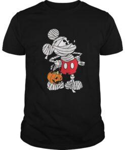The Disney Mickey Mouse Mummy Halloween Tee Guys