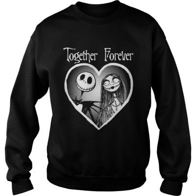 The Disney Nightmare Before Christmas Together sweatshirt