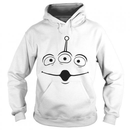 The Disney Pixar Toy Story Alien Face Halloween Graphic hoodie