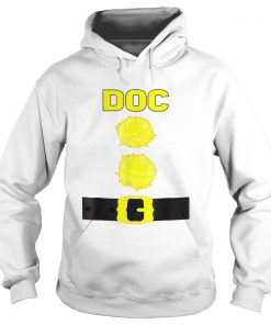 The Doc Dwarf Halloween Costume Brown hoodie