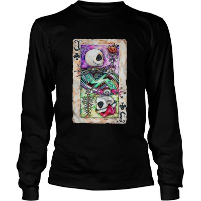 The Jack Skellington Playing Card Longsleeve Tee