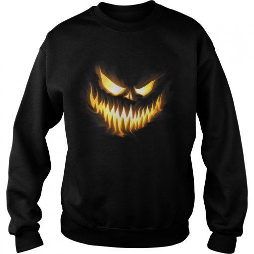 The Scary pumpkin Halloween sweatshirt