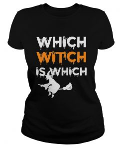 The Which Witch Is Which Funny Halloween English Teacher classic ladies
