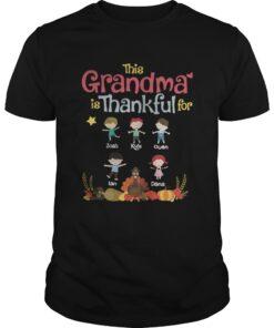 This Grandma is thankful for josh kyle owen Lan dana Guys