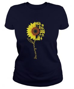 You Are My Sunshine Camping Ladies Tee