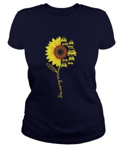You Are My Sunshine Jeeep Ladies Tee