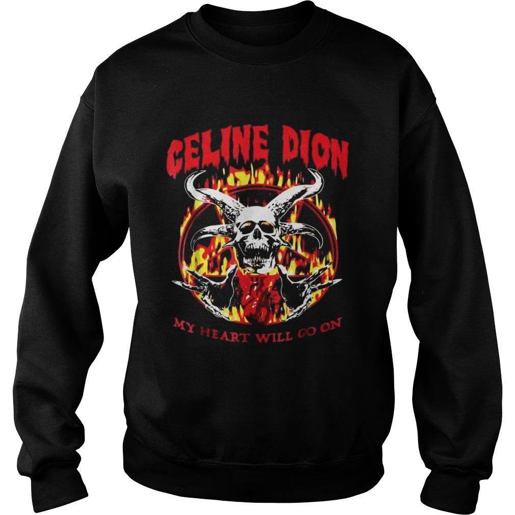 Celine Dion Metal Shirt Kingteeshop
