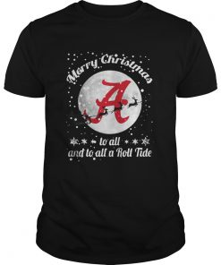 Alabama Crimson Tide Merry Christmas To All And To All A Roll Tide Guys