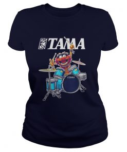 Animal muppet rock band Ladies Tee