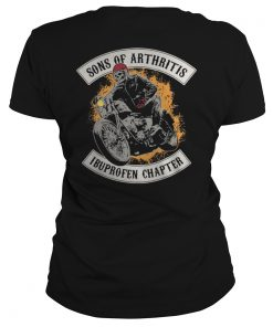 Biker Sons of Arthritis Ibuprofen Chapter Ladies Tee