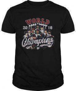 Boston 2018 world champions Guys