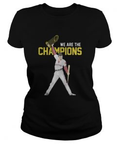 Boston Red Sox We Are The Champions Ladies Tee
