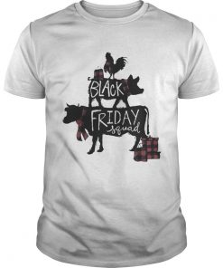 Cow and Chicken Black Friday squad shirt