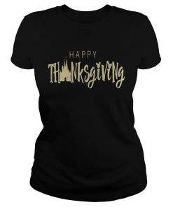 Disney happy thanksgiving ladies tee