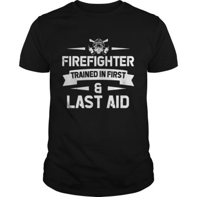 Firefighter Trained In First And Last Aid Guys