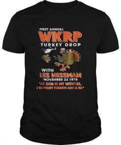 First Annual WKRP Turkey Drops With Les Nessman Guys