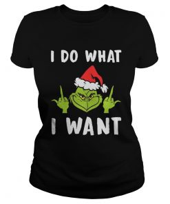 Grinch I Do What I Want Ladies Tee