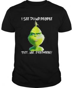 Grinch I see dumb people they are everywhere Christmas Guys