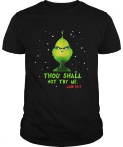 Grinch thou shalt not try me mood Christmas Guys