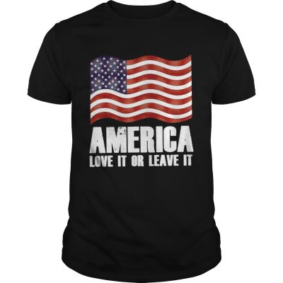 Guys America love it or leave it shirt