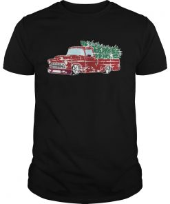 Guys Christmas Jumper or Shirt with Vintage Truck Shirt