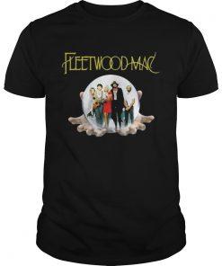 Guys Fleetwood Mac rock music shirt