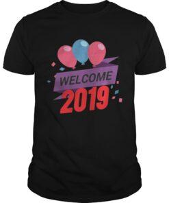 Guys Happy New Year 2019 Tee Shirt