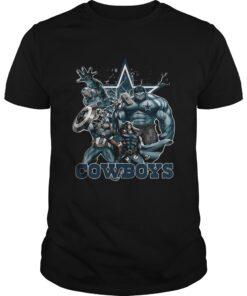 Guys The Avengers Dallas Cowboys shirt