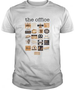 Guys The Office quote mash-up shirt