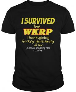 I Survived The WKRP Thanksgiving Turkey Giveaway Guys