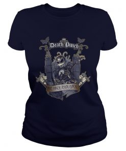 Jack Skellington Five Finger Death Punch Ladies Tee