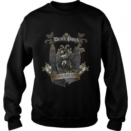 Jack Skellington Five Finger Death Punch Sweatshirt