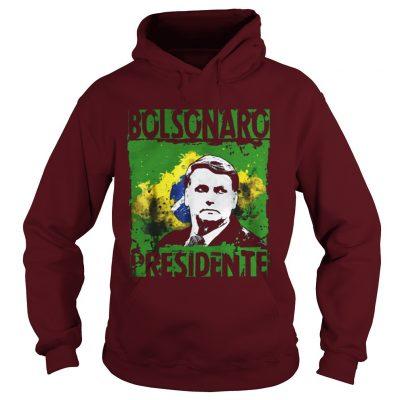 Jair Bolsonaro presidente Brasil 2018 Hoodie