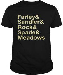 Jonah Hill FarleySandlerRockSpadeMeadows Shirt