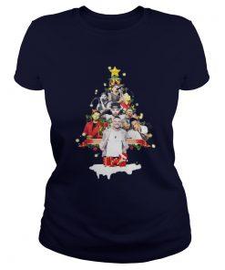Kane Brown Christmas tree Ladies Tee