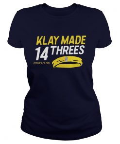 Klay made 14 threes Ladies Tee