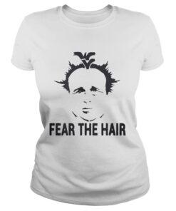 Ladies Tee Dana Holgorsen Fear the hair shirt