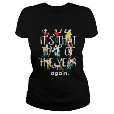 Ladies Tee New Year Happy New Year 2019 Fireworks TShirt
