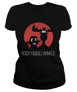 Ladies Tee Rocky and Bullwinkle shirt