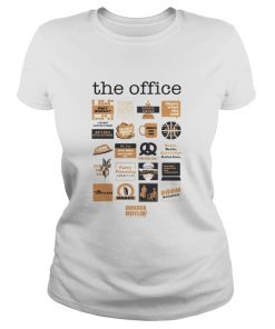 Ladies Tee The Office quote mash-up shirt
