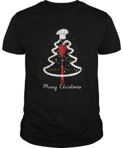 Merry Christmast tree chef Shirt