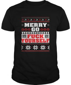 Merry Go Fuck Yourself Christmas Shirt