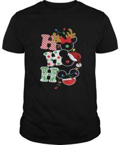 Mickey Disney Christmas ho ho ho Guys