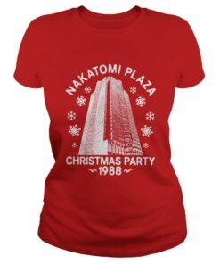 Nakatomi plaza Christmas party 1988 Ladies Tee