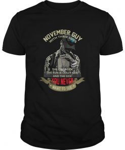 November Guy with Three Sides Quiet Side Fun Crazy Side Guys
