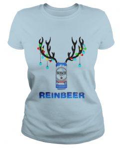 Official Busch Reinbeer Christmas Ladies Tee
